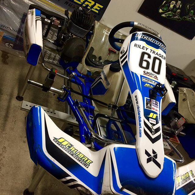 @ricciardo_karts are ready for the WA State Championships |@esperancekartklub #calibremotorsport @vrooam #ricciardo #kart #race #competition