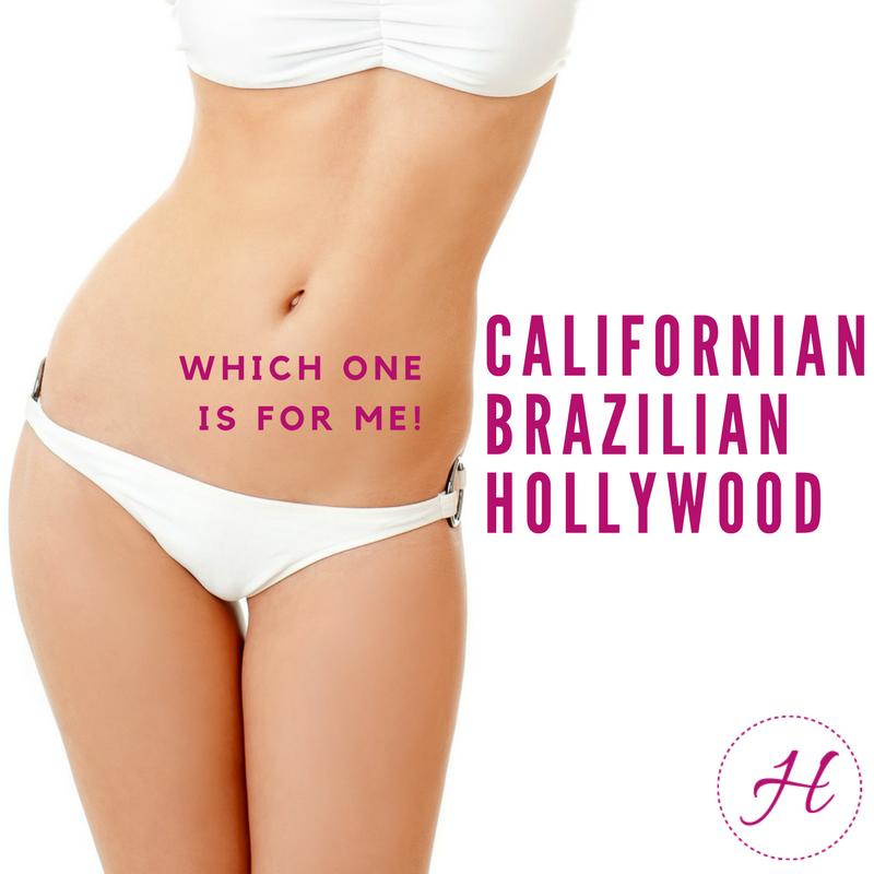 Hollywood cut intim