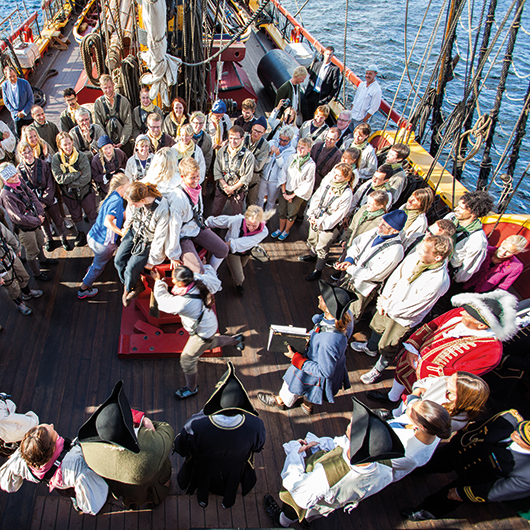 Experience package - Fun activities onboard