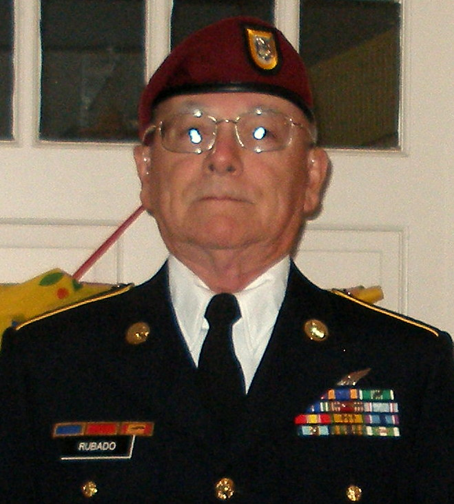 Board Member - Gold Star Father Charles F. Rubado. Charles is the father of Army 2Lt Charles R. Rubado who was killed in action August 29, 2005 in Iraq. Charles serves on our Board of Directors.