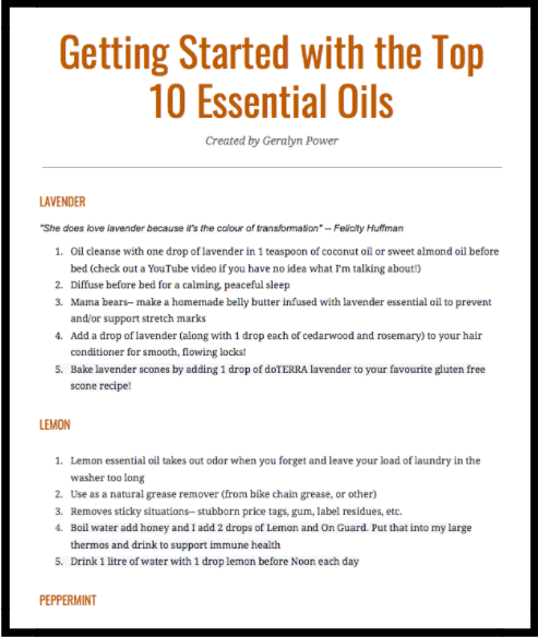 Check out this free guide I created for you. -