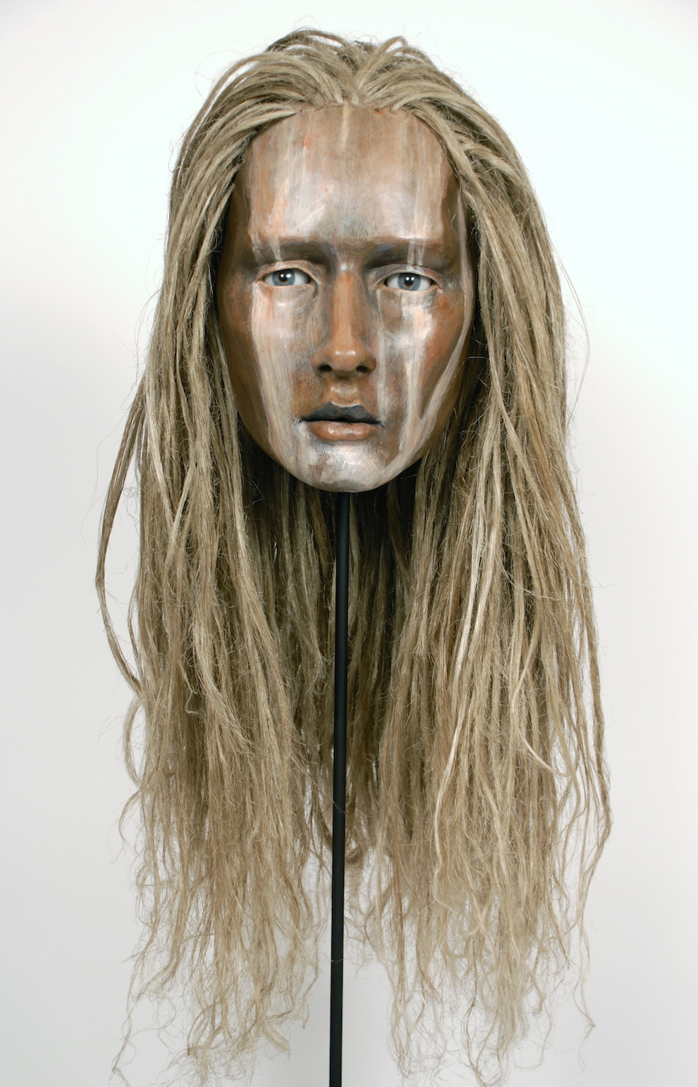 Mask of a woman
