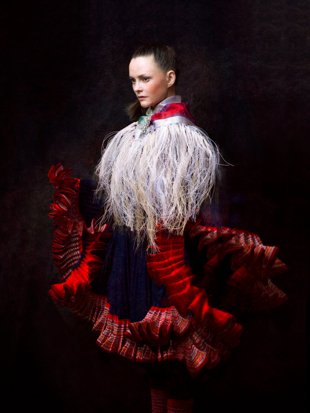 Inga Maria with the Tangled Scarf, 2016
