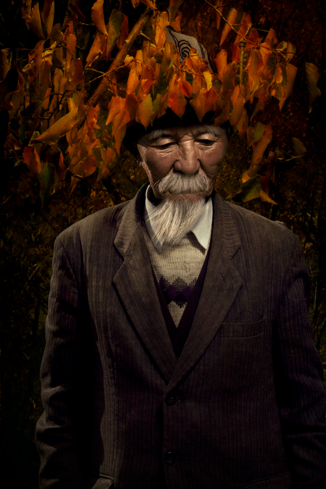 Man Under Orange Leaves, 2011
