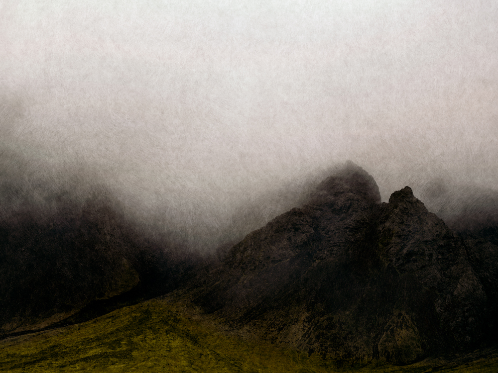 Mist on a Mountain Landscape, 2014
