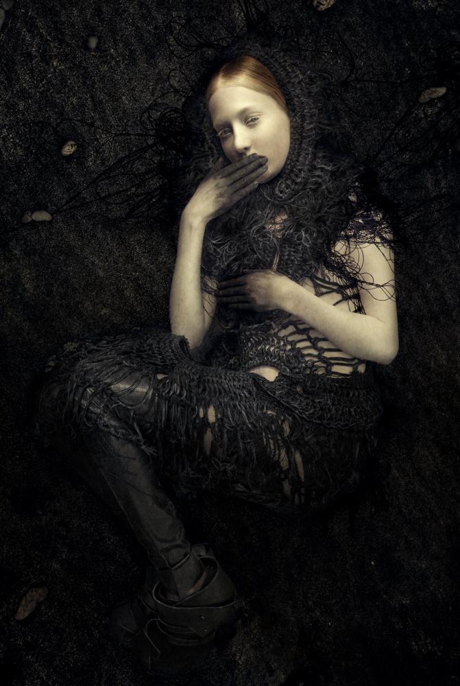 Juanita with Black Hands, 2014