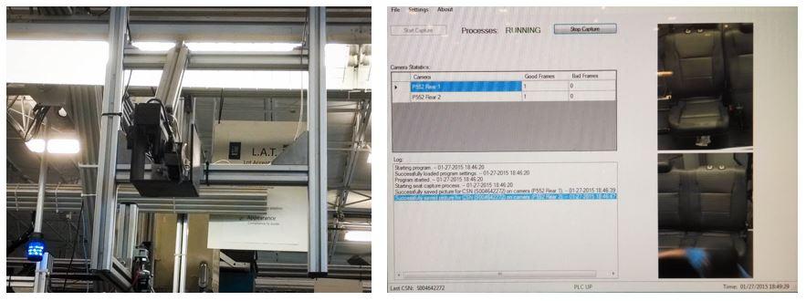 camera build line quality assurance system