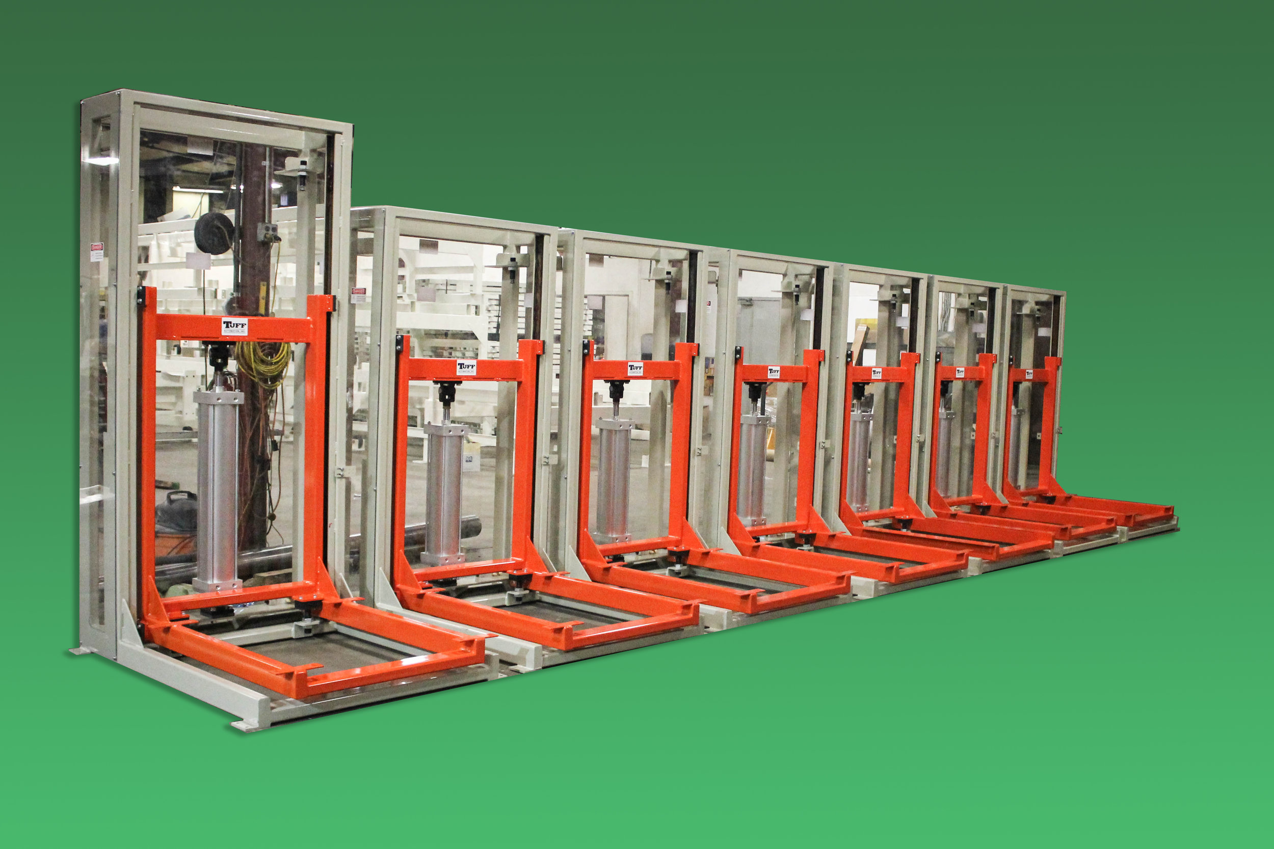 tuff automation pneumatic lifts scissor lift alternative custom design material handling
