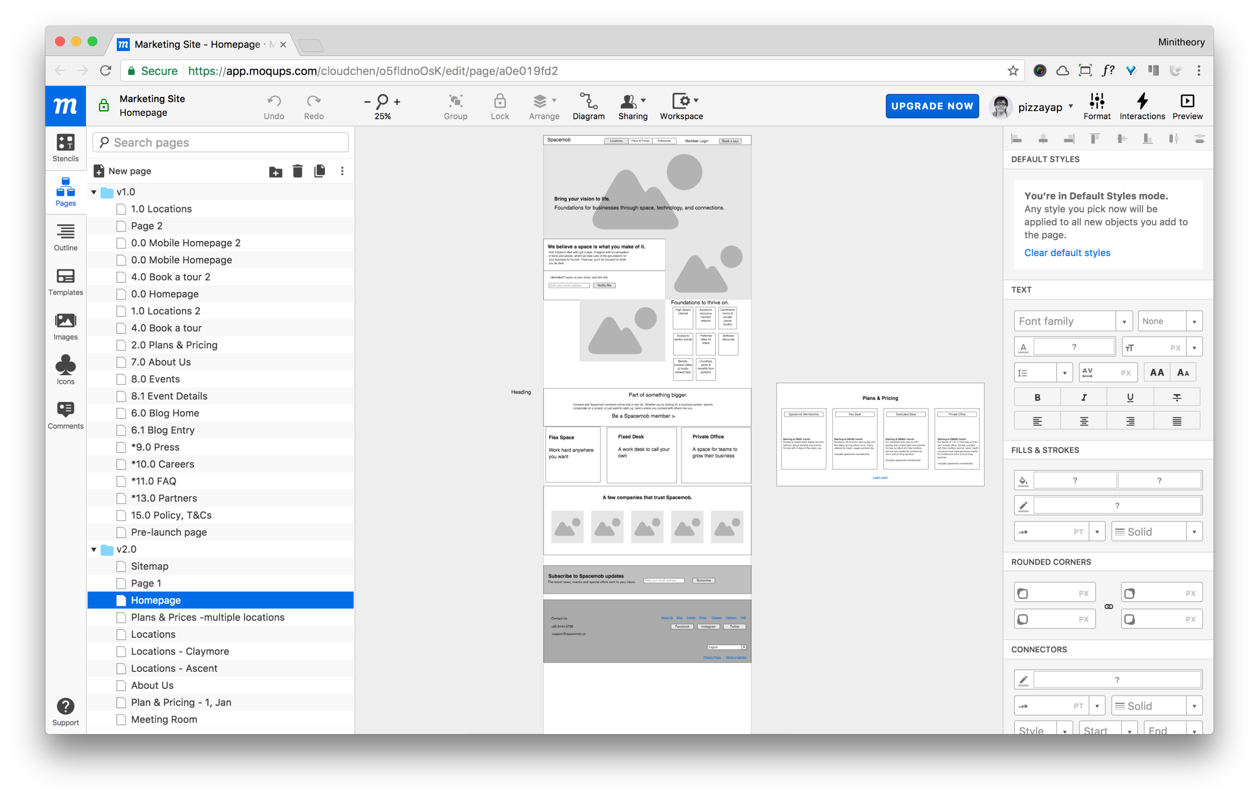 We use Moqups as the wireframing tools. It is a very good tool because we can collaborate with our designers and also client's product manager seamlessly.