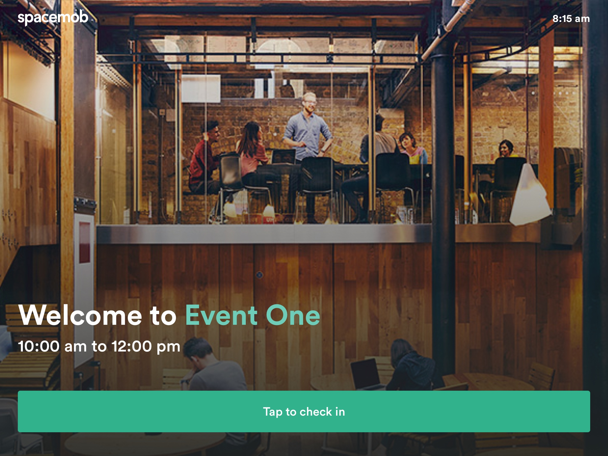 The Event/Meeting App UI