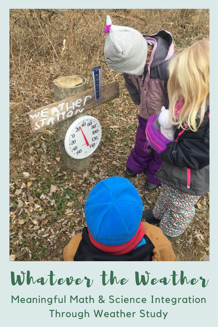 Whatever the Weather: Meaningful Math & Science Integration Through Weather Study