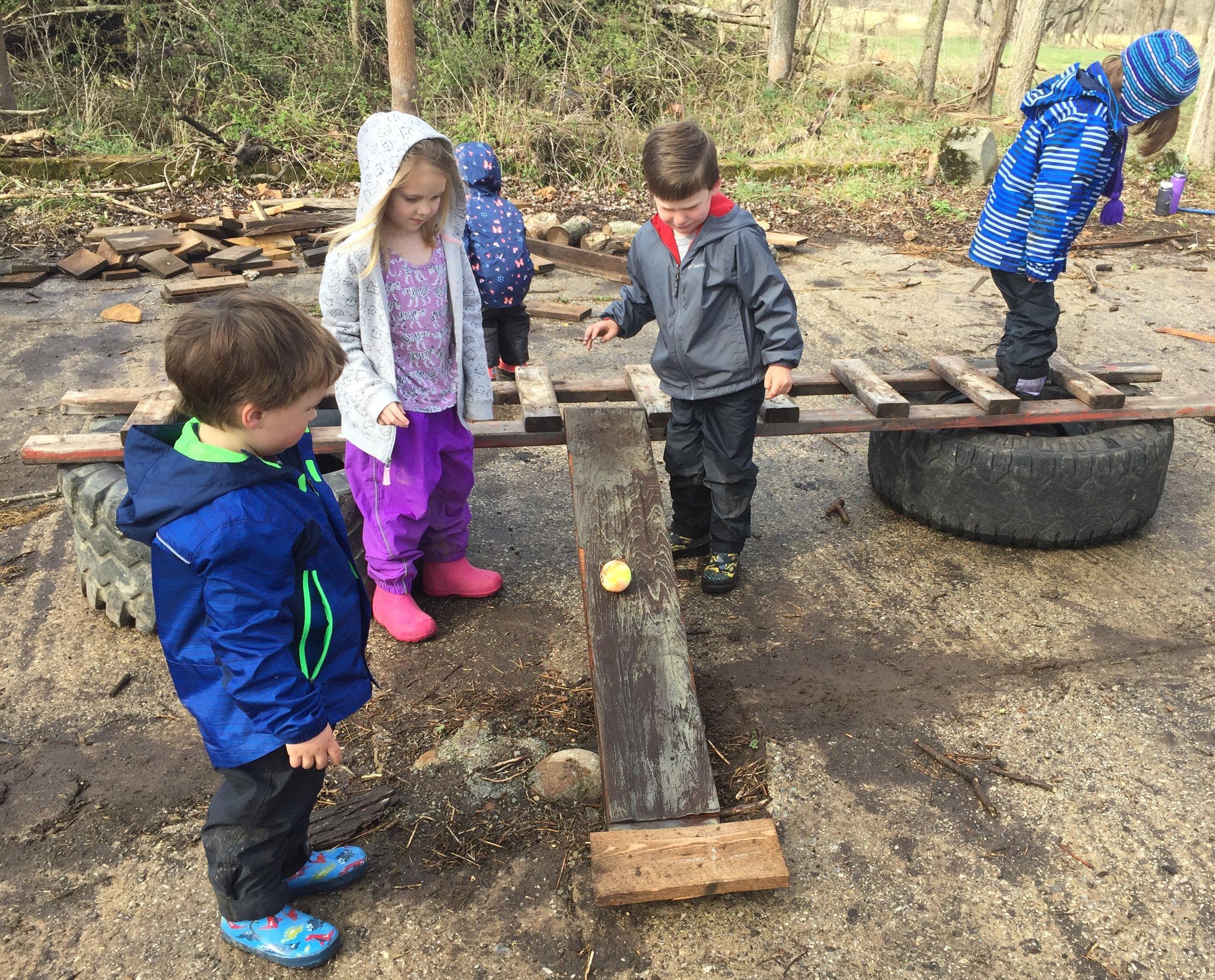 Riverside Nature School Ramp