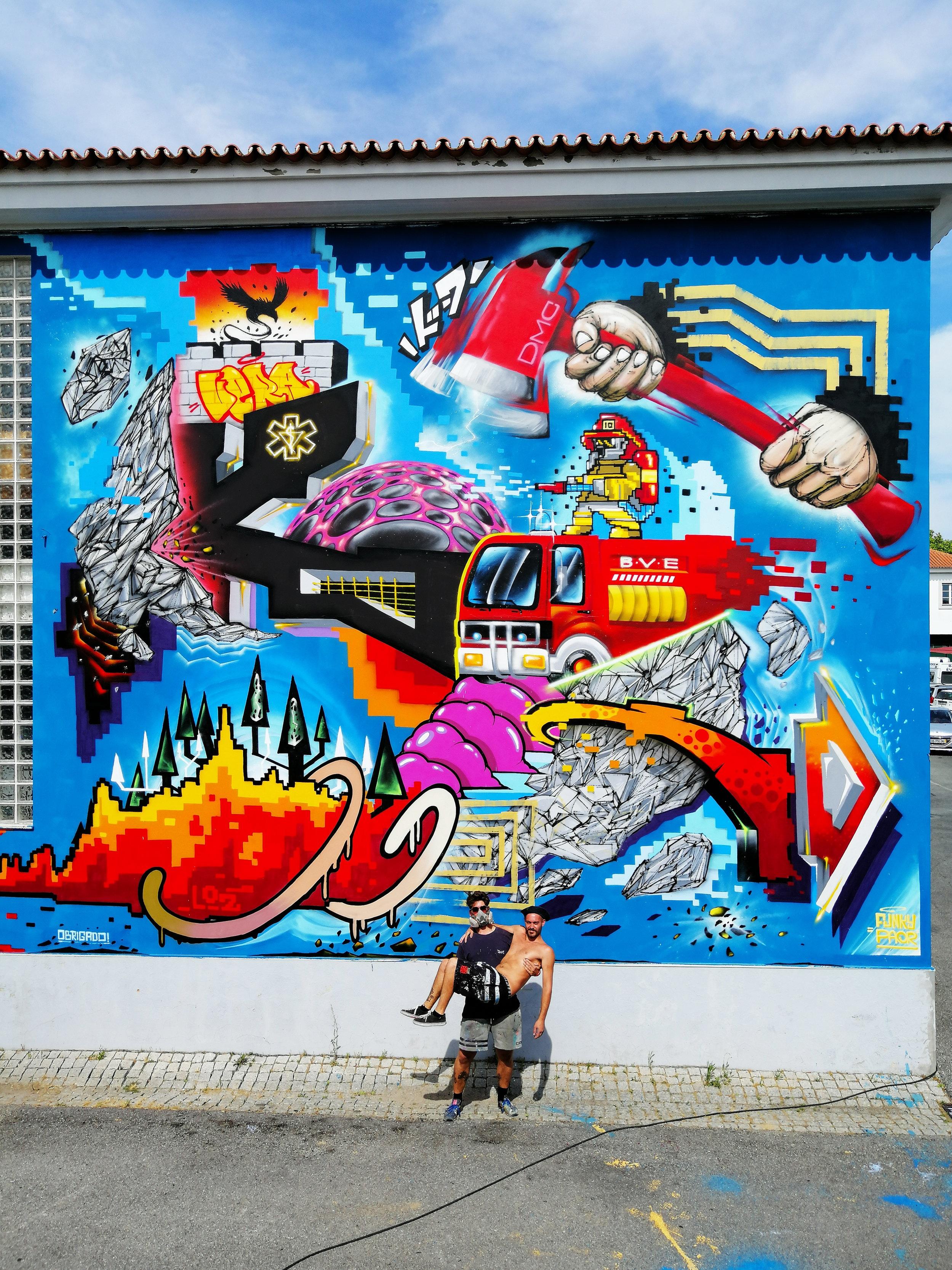 Digital Phoenix - Artes à Rua 2019