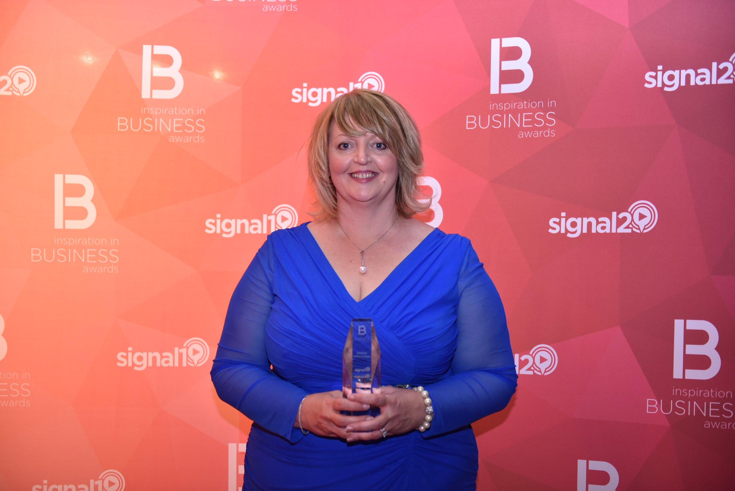 Wendy Dean - Signal One Awards.JPG