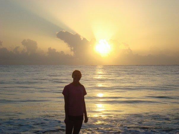 Sunrise over Cabarete Beach, Dominican Republic
