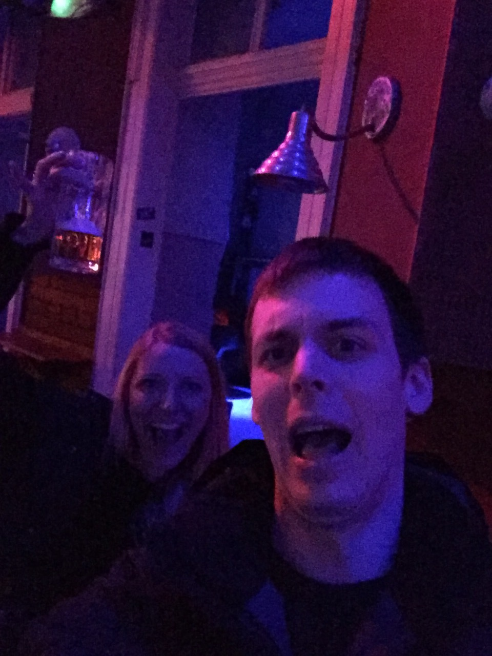 Bar crawl through Budapest -