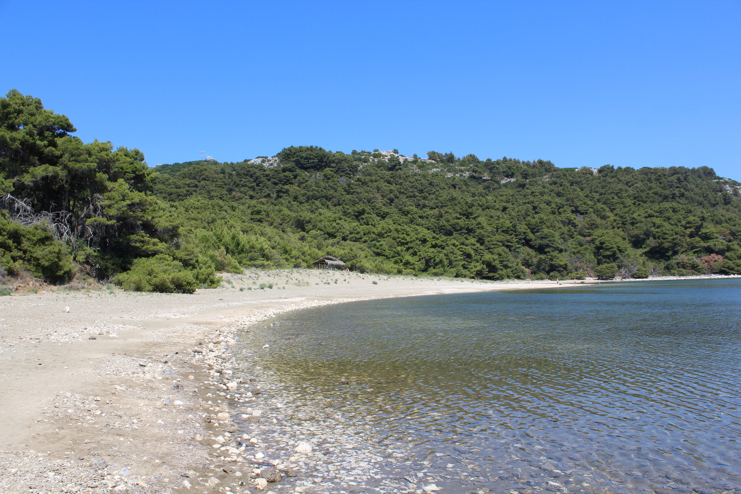 This is a nude beach, trust me.We don't have pictures of the nude people to prove it because that would be creepy, and possibly illegal.