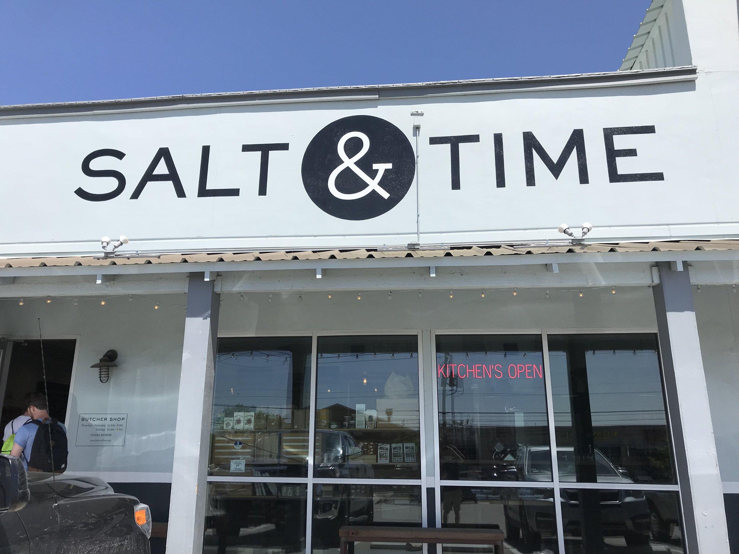 Salt and Time