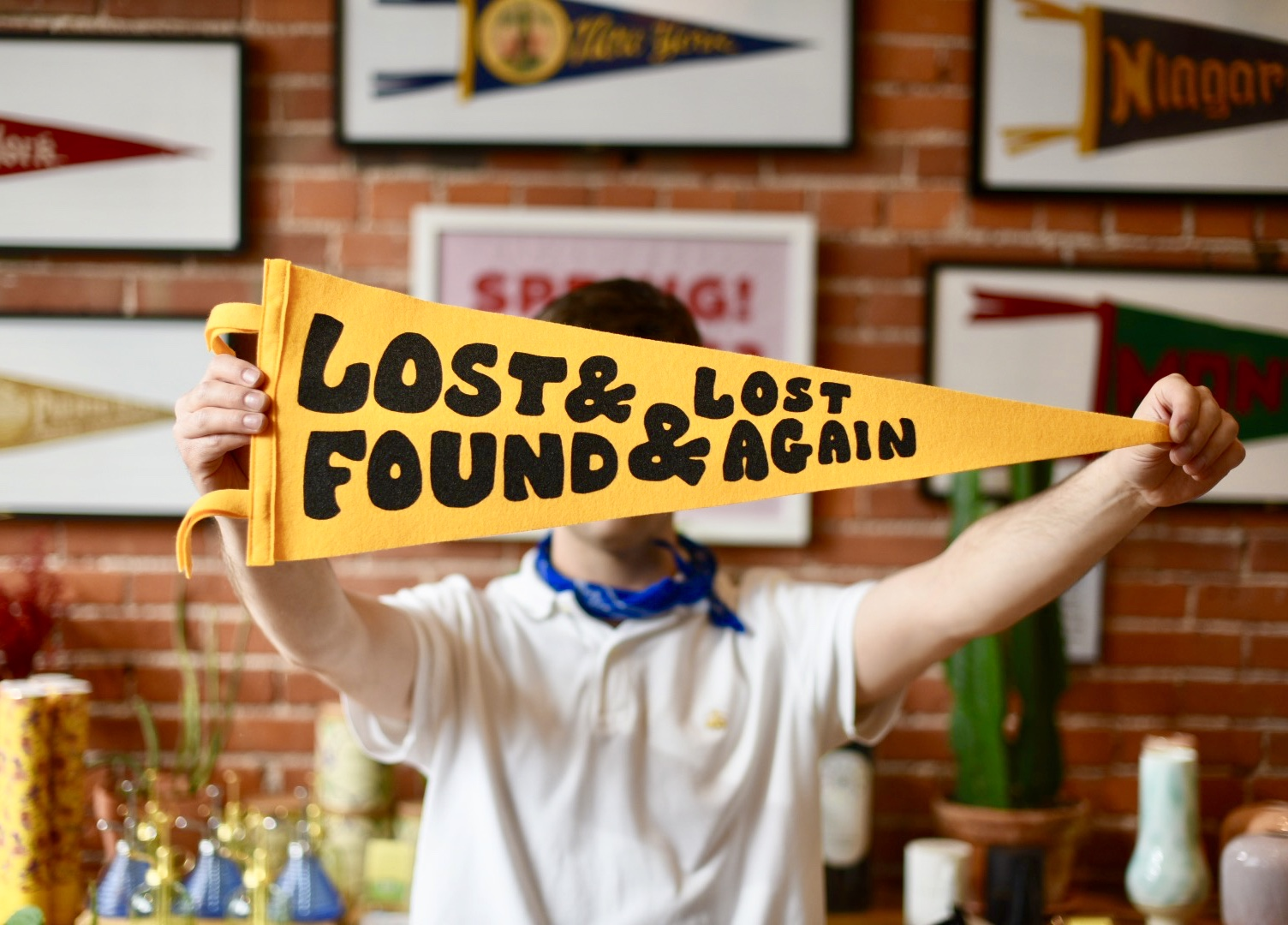 Lost and found Oxford Pennant