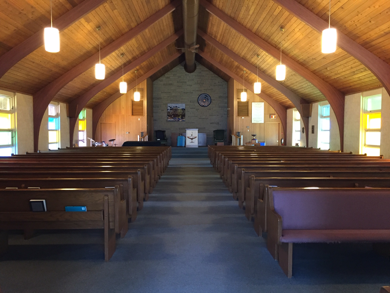 Sanctuary at Grand River Unitarian Congregation