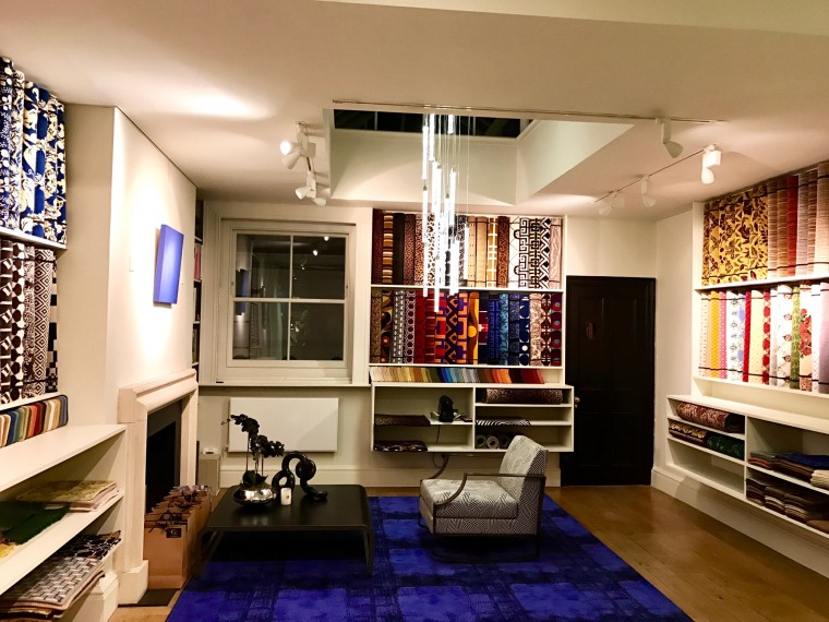 Cascade, Manifactures Catry, Retail Showroom