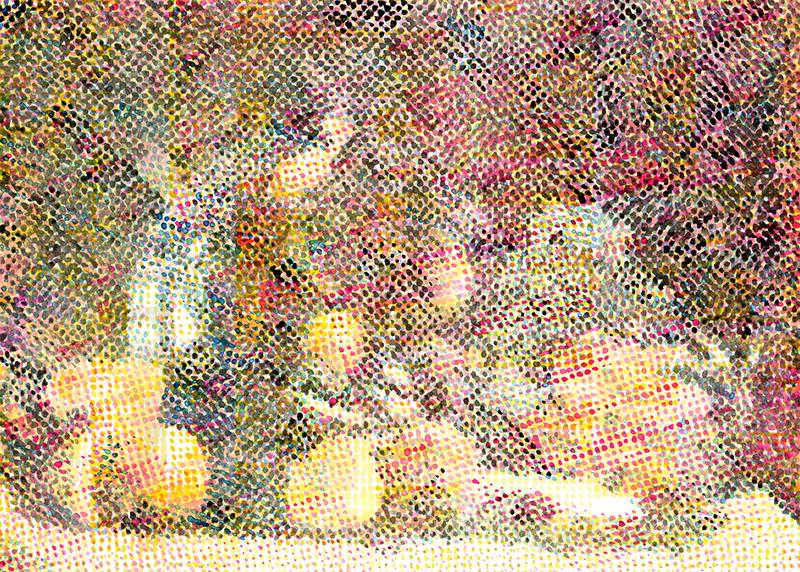 Naturfarbendruck, 2015, watercolour on paper, 707 x 1000mm