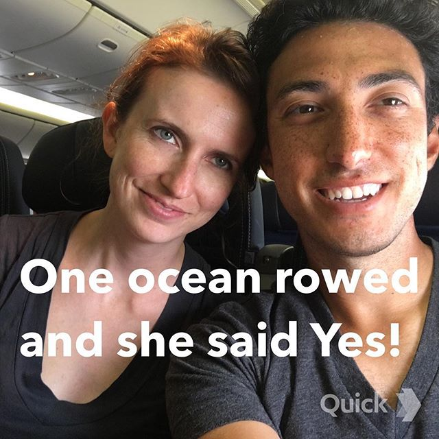 Overcoming challenges and making dreams come true. Thank you to everyone that has helped me cross the Pacific (the harder way) and surprising Meghan upon my arrival.