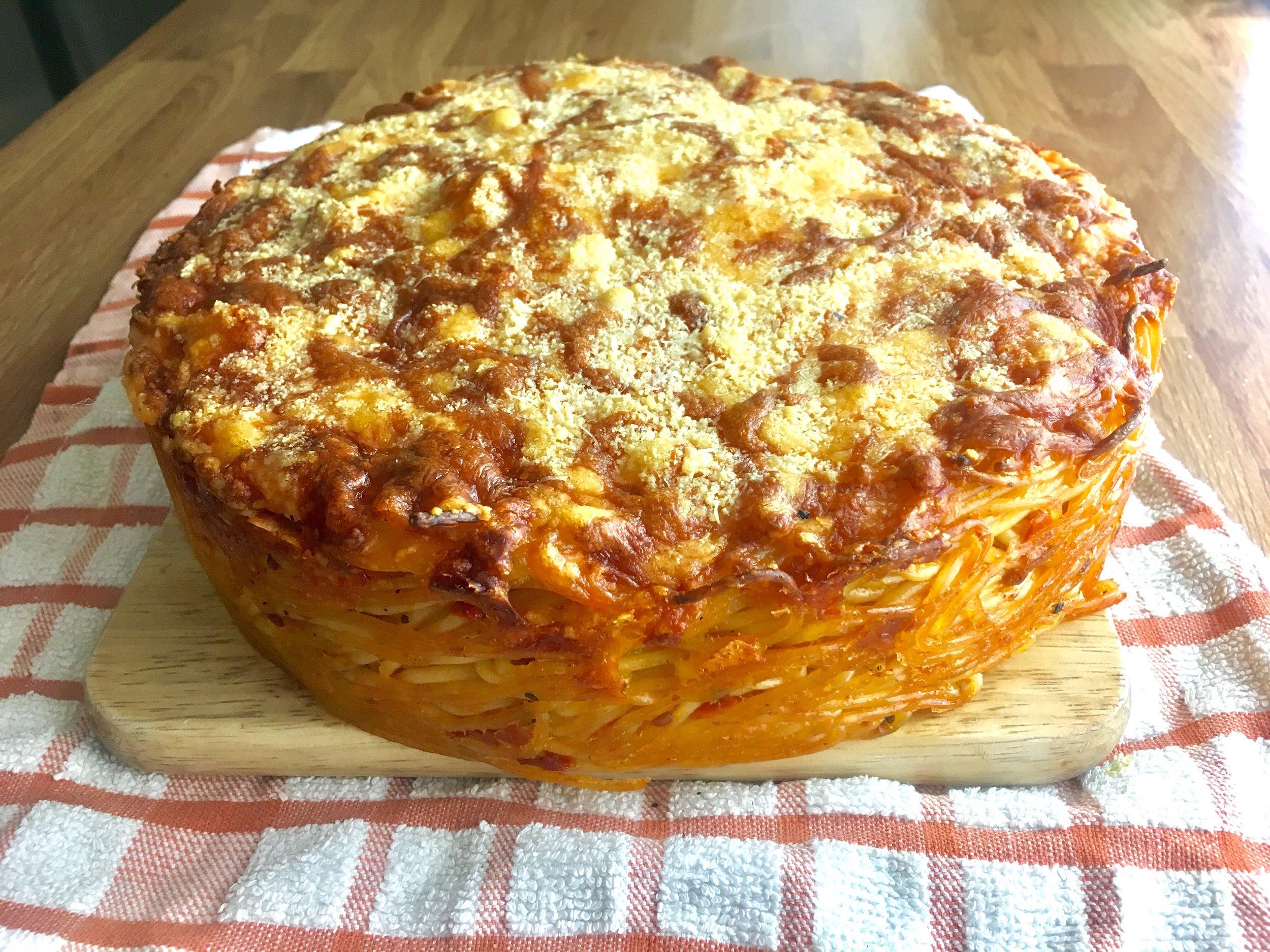 Spaghetti Pie -