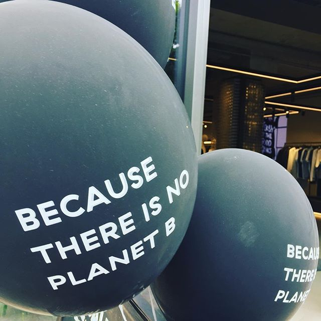 Because there's no planet B  #planetb #baloons #b