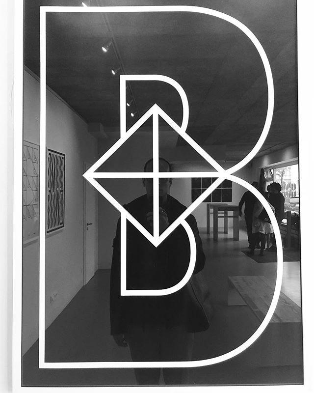 Moments before the #exhibition started!!! #bewatermyfriend #bwmf #b #letterb #typography #art #design #blackamdwhite #homedecor #inspiration #style #new #mine #rafaelbernardo #rafael #munich #poster #print #paper #ink
