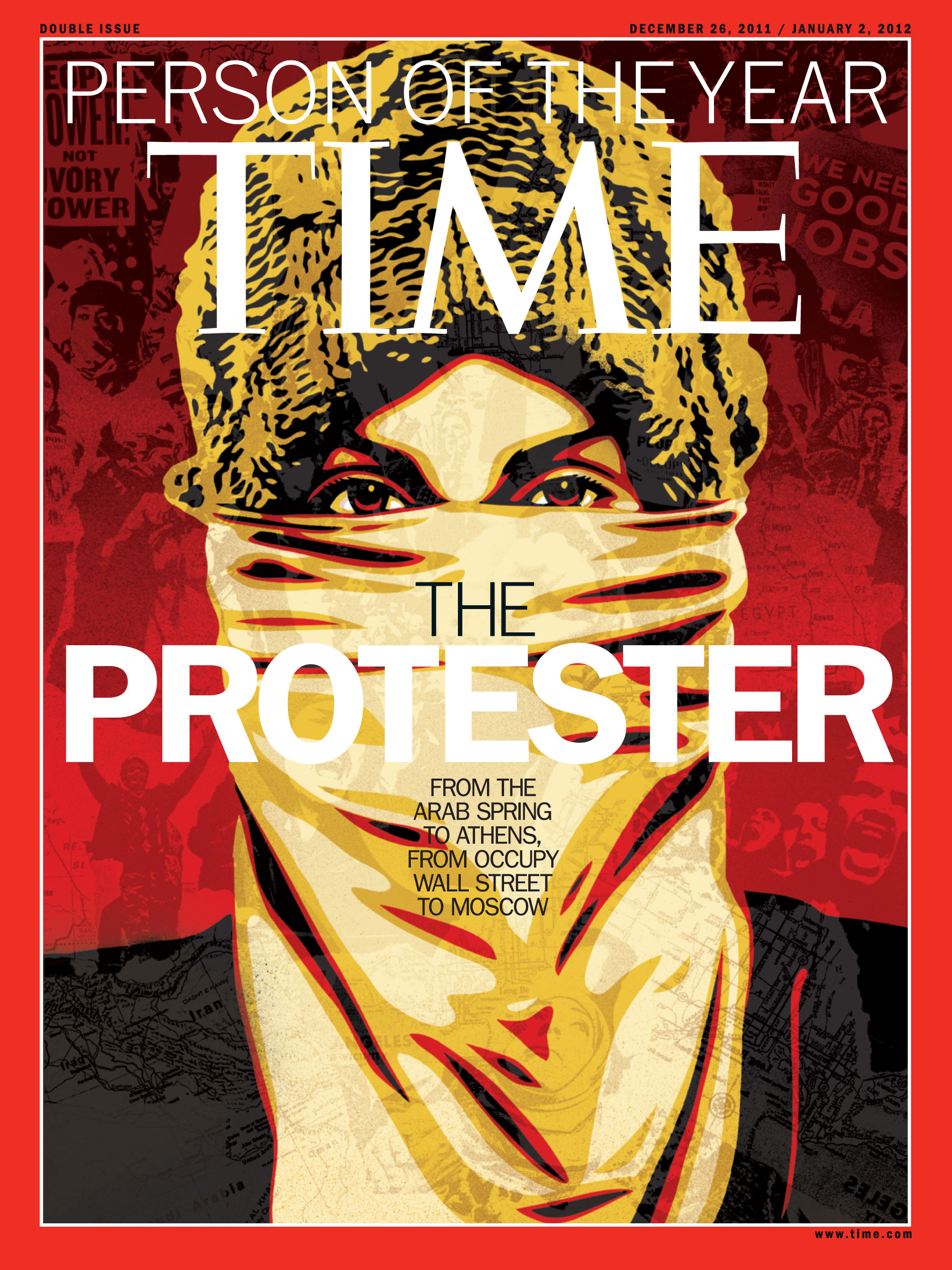 Illustration by Shepard Fairey for TIME