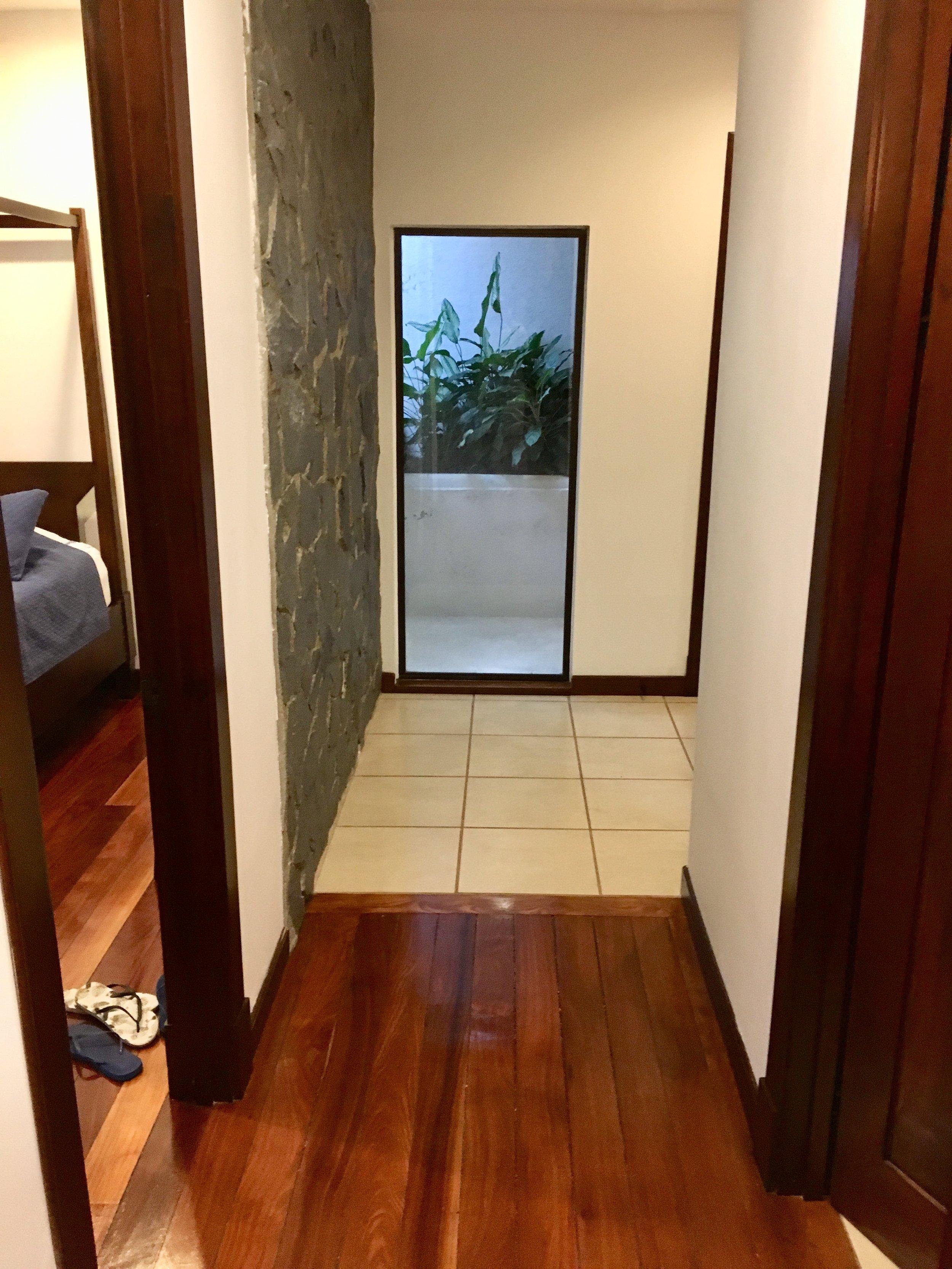 Hallway, 3rd bedroom to the left