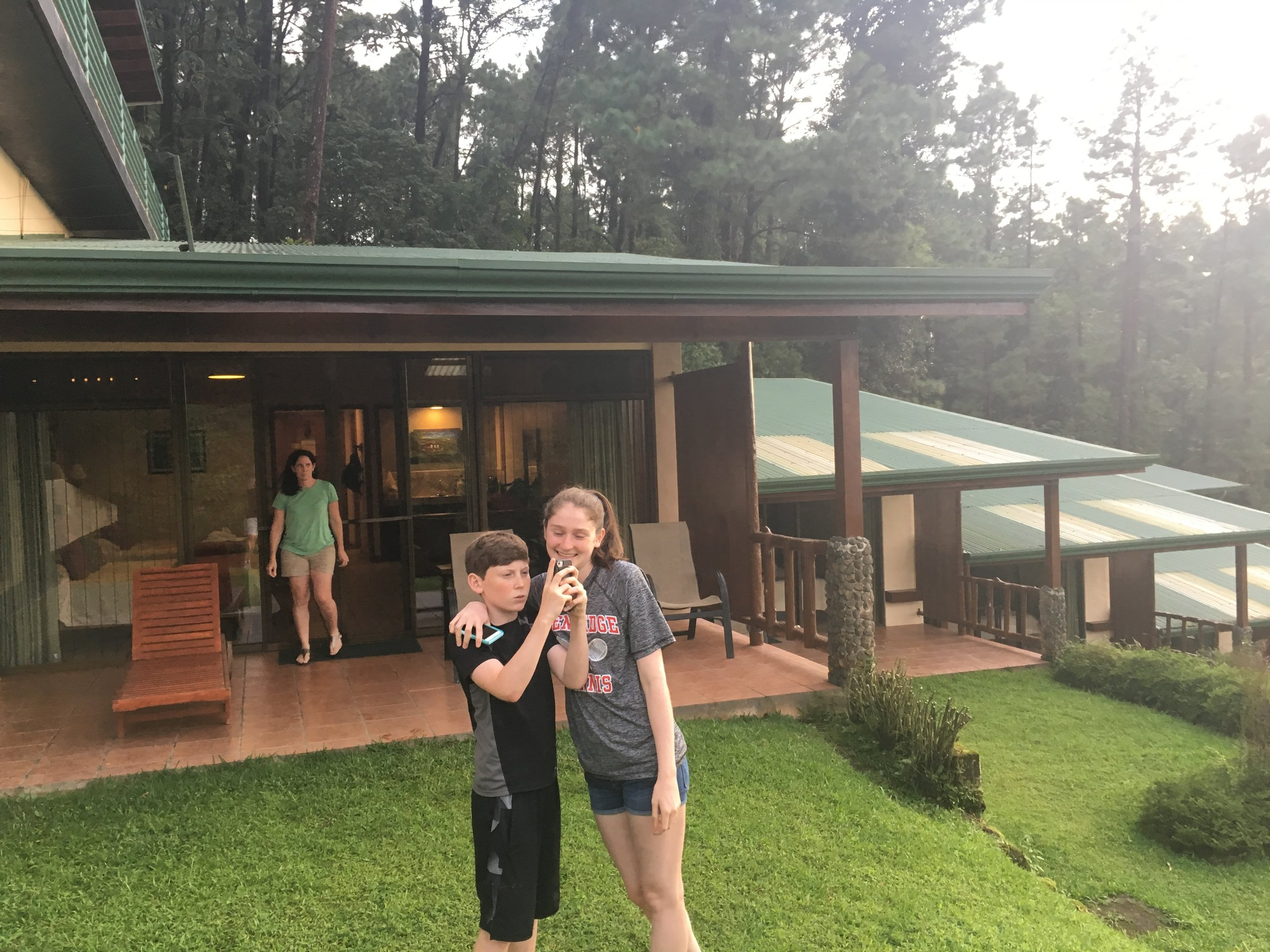 Arenal Junior Suite patio
