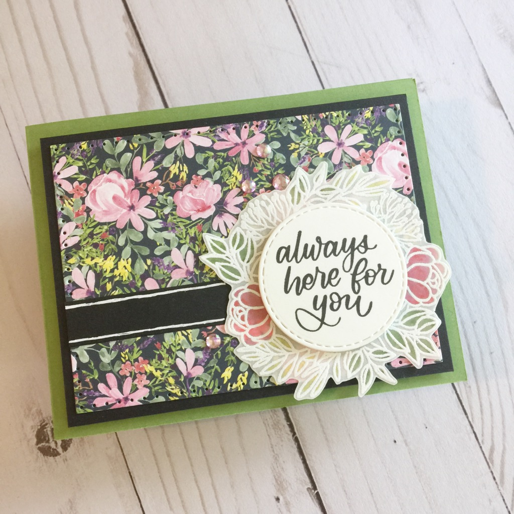 Simon Says Stamp - Leafy Frames | May 2019 Card Kit of the Month