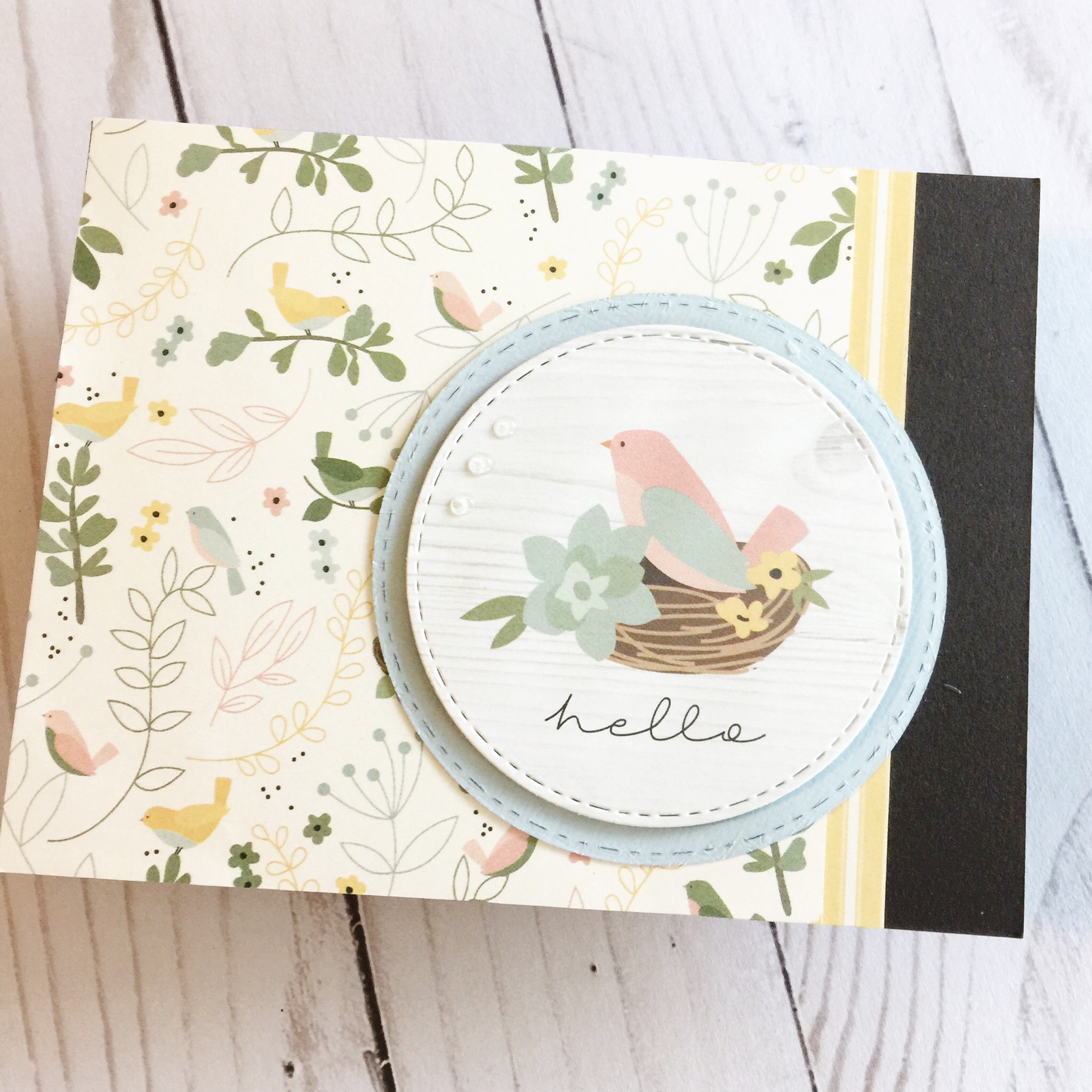 Simon Says Stamp - Hello Darling | April 2019 Card Kit of the Month