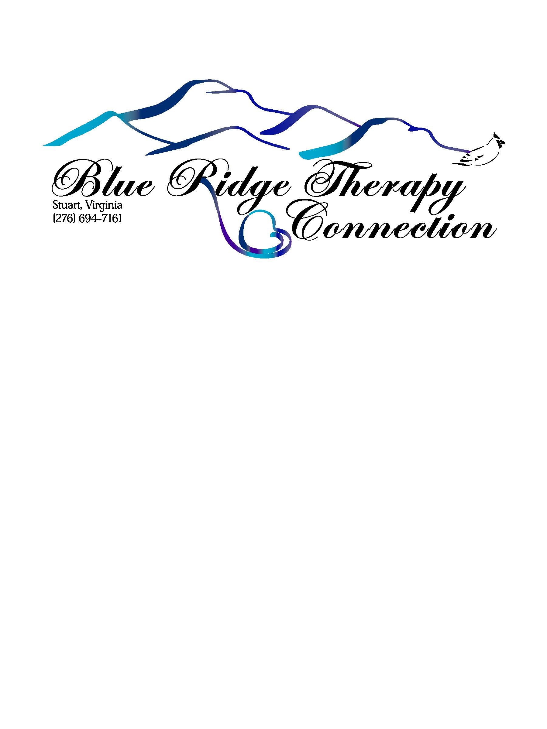 Blue Ridge Therapy Connection logo