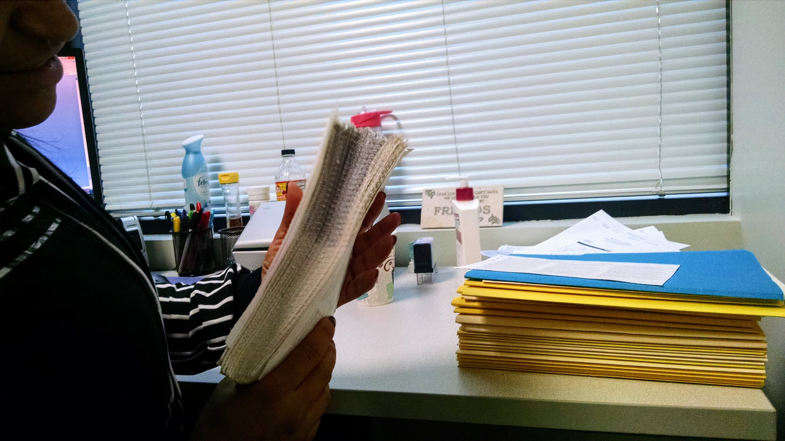 Observing the paper-based credentialing process