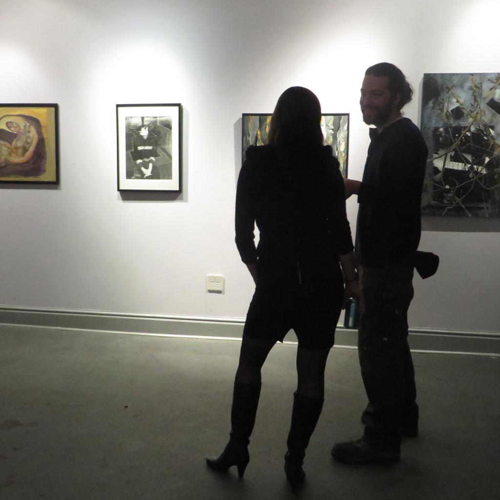 "Maria Kretschmann and Garick Tai-Lee at ""Entangled"""