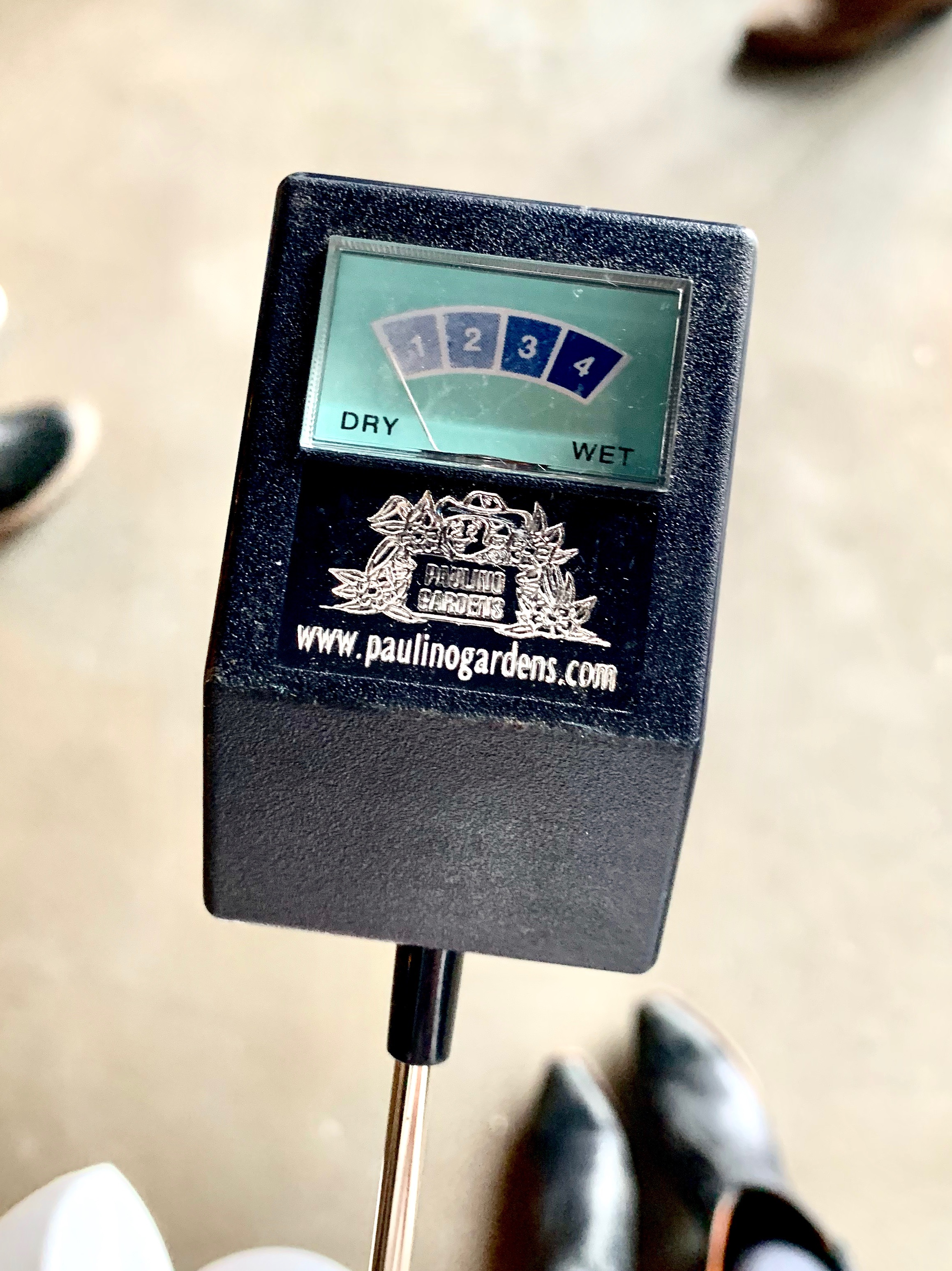 Consider using a moisture meter!