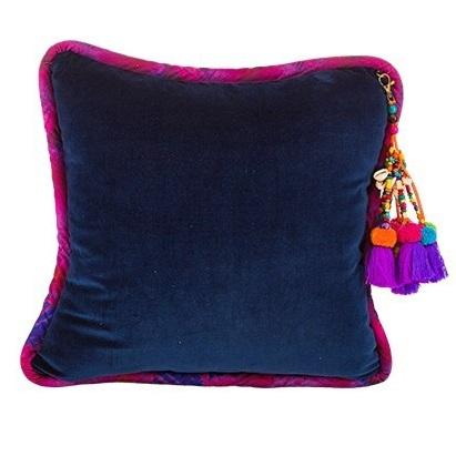 Navy Luxurious Velvet Pillow
