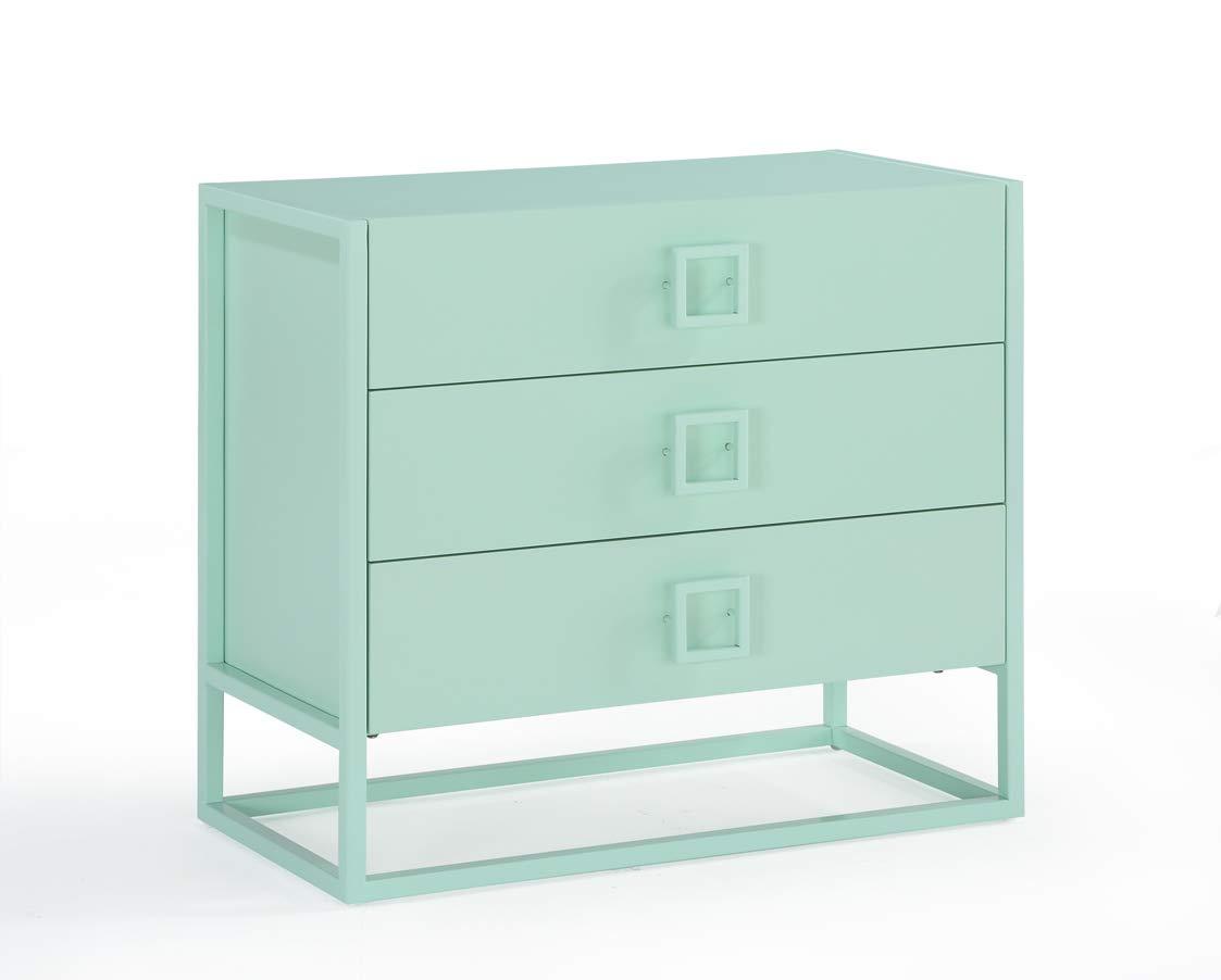 Now House by Jonathan Adler Vally 3- Drawer Dresser, Mint