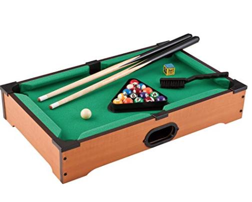 Mini billiard/pool set