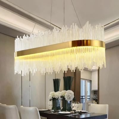 Glass Sticks Pendant Lighting