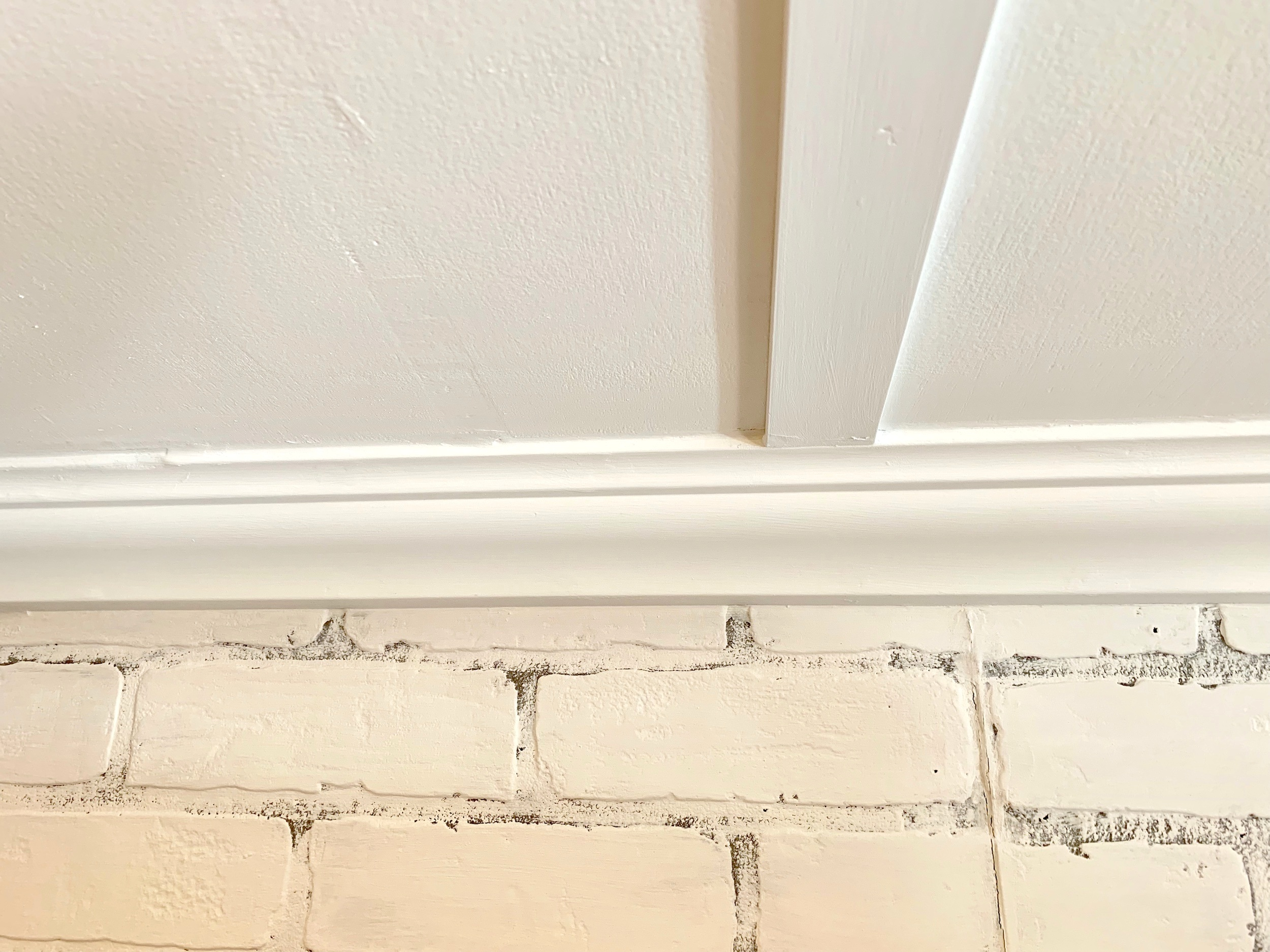 Such a sweet & classy detail: crown molding throughout