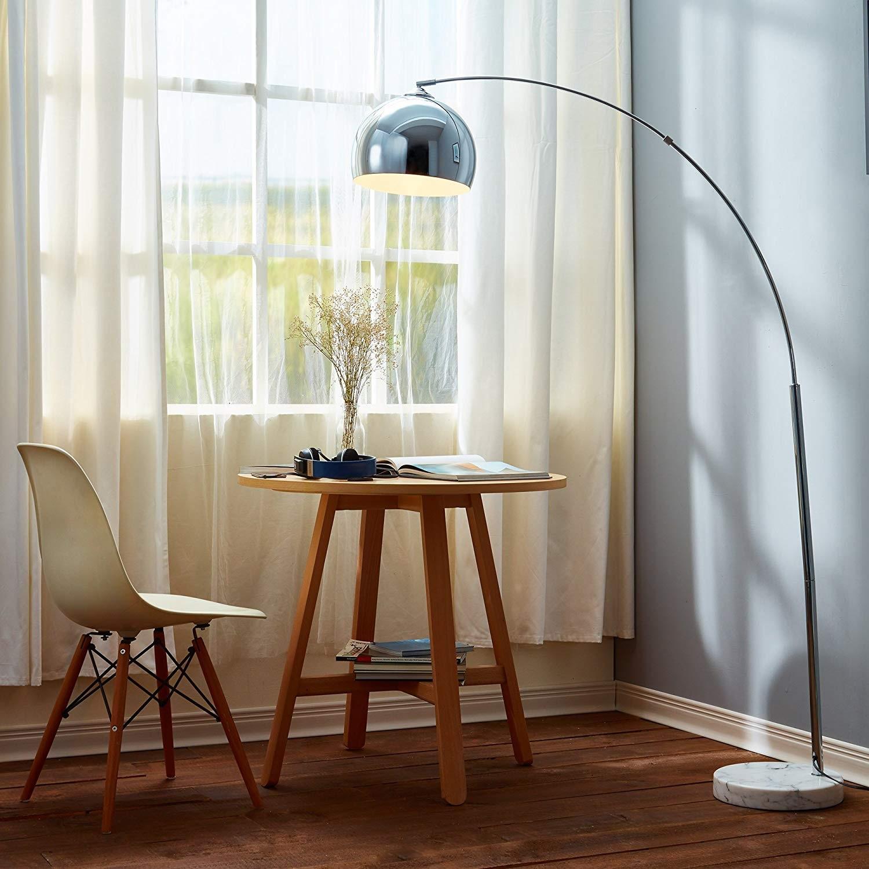 Versanora Arquer Modern Arc Floor Lamp