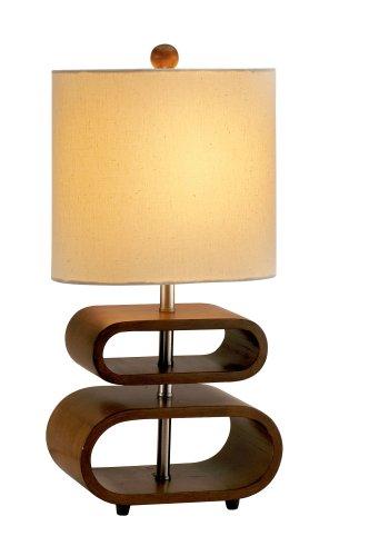 Adesso Walnut Table Lamp