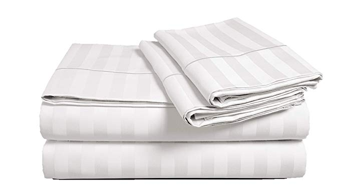 White  Egyptian Cotton 500 Thread Count Sheet Set
