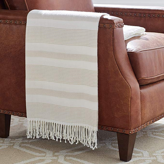 Stone & Beam Striped Throw