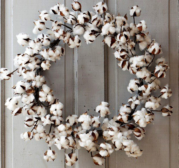 XL Cotton Wreath