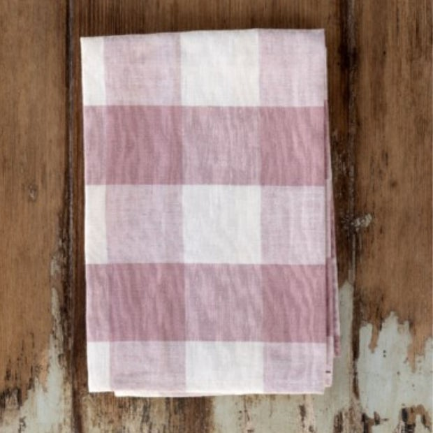 Blush Buffalo Check Napkins (Set of 4)